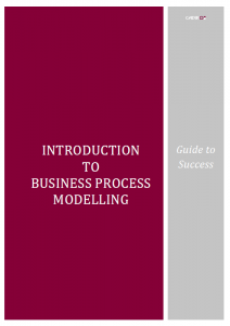 Supports BCS syllabus for modelling business processes.